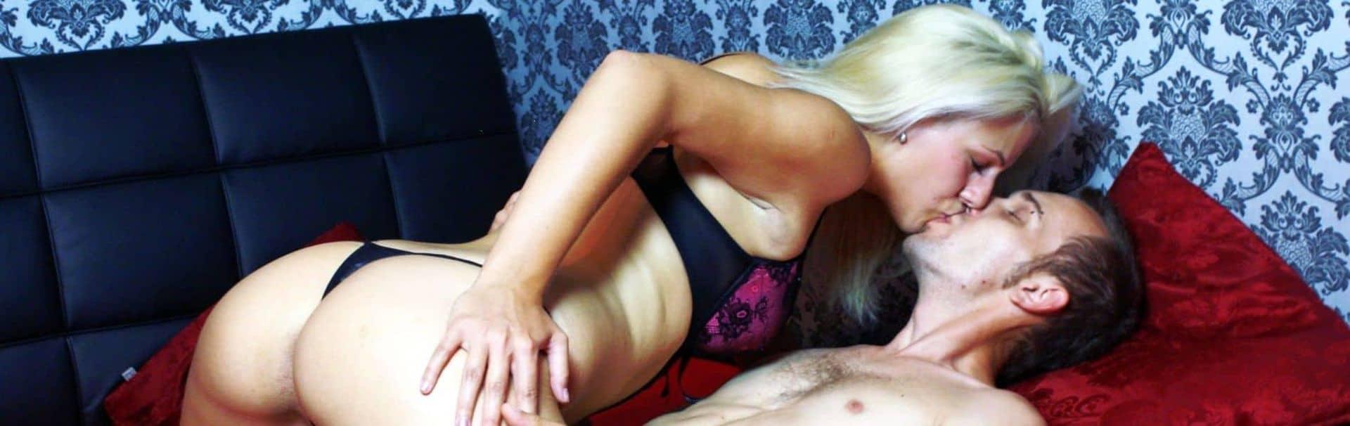 Sex zu zweit vor der Webcam?